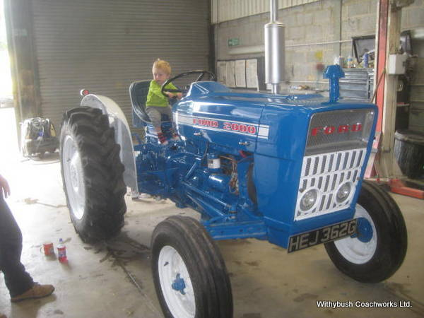 Tractor Restoration Projects : Ford tractor restoration